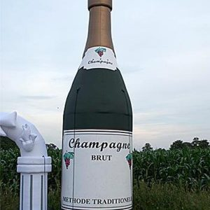 Champagne fles
