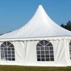 Pagode tent 5x5mtr zwaar model
