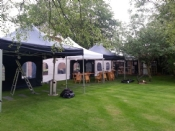 Party tent 3x6mtr POP UP blauw