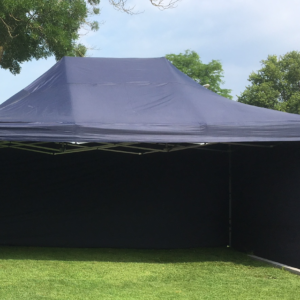 Party tent 4 x 6 POP UP Blauw